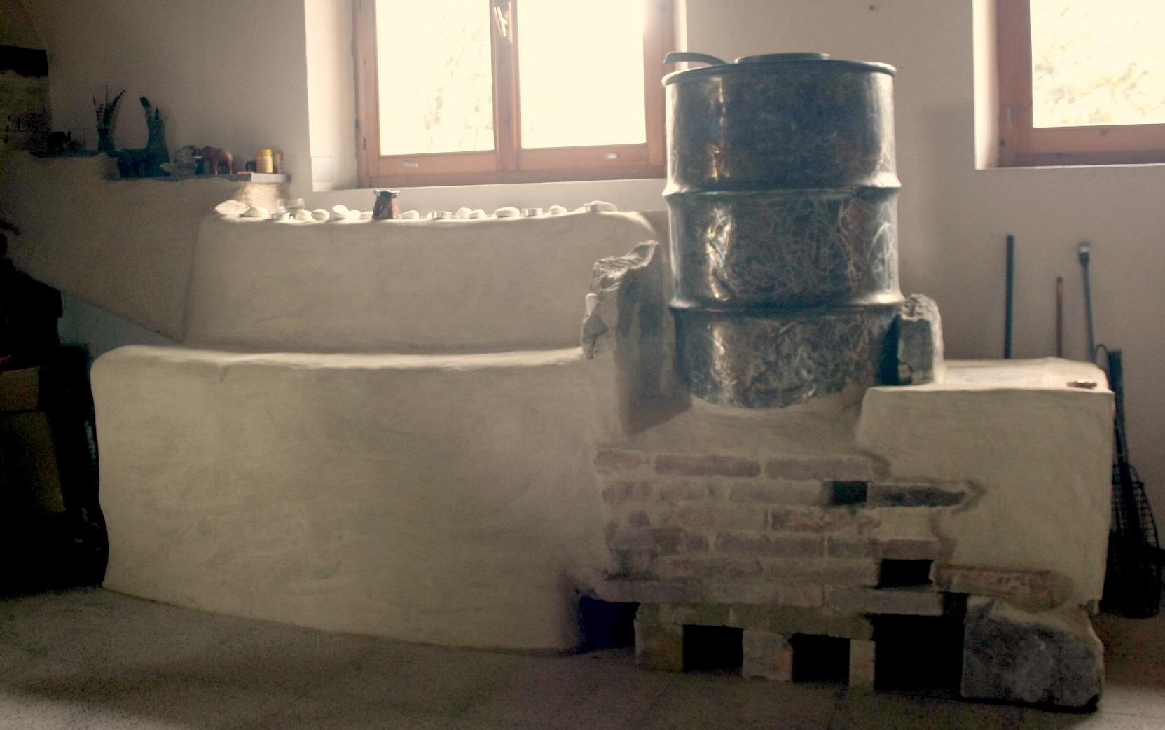 Ideozone una stufa a legna efficiente e autocostruibile for Stufa pirolitica con canna fumaria